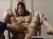 ドMな三十路美熟女が緊縛拘束プレイで絶頂するひとずま動画